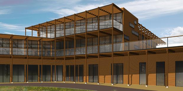 Enkhuizen sociaal medisch centrum prijsvraag van der waals zeinstra architekten - Buro 13 architekten ...